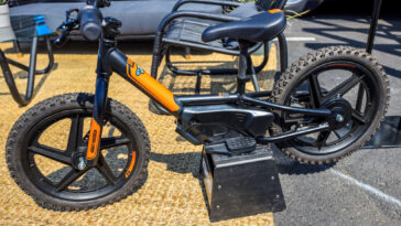 Harley Davidson Kids Electric Bike