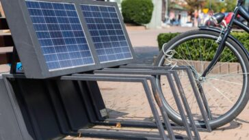 Charged Ebike with Solar Power