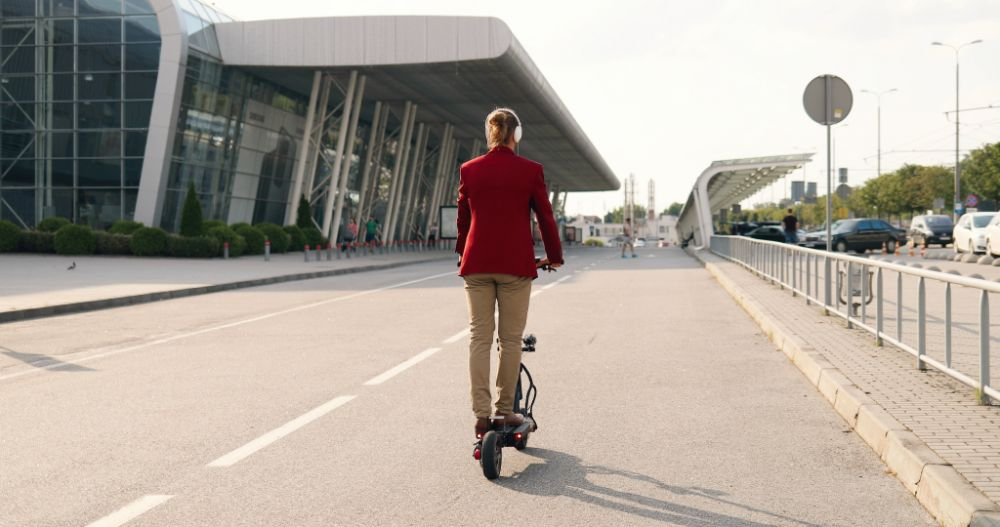 Electric Scooters With Bluetooth Connection