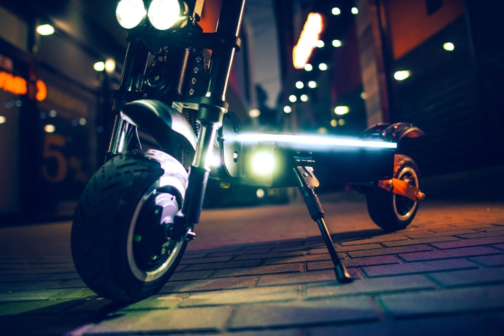 Electric Scooters With Built In Lights