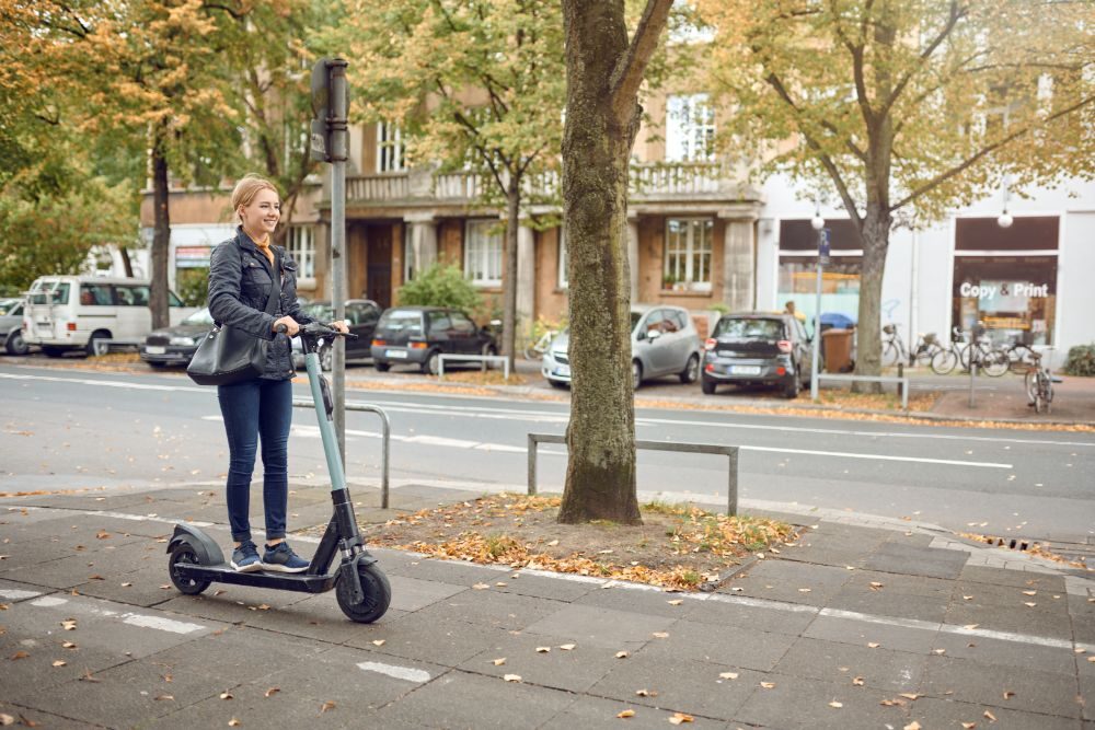High-Speed Electric Scooters