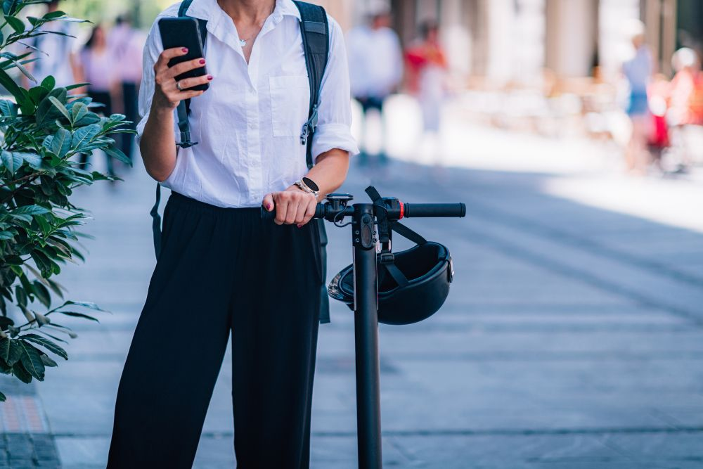 Lightweight Electric Scooters for Commuting