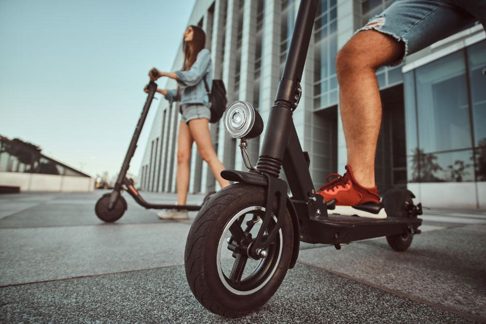 Top Electric Scooters With Built In Lights