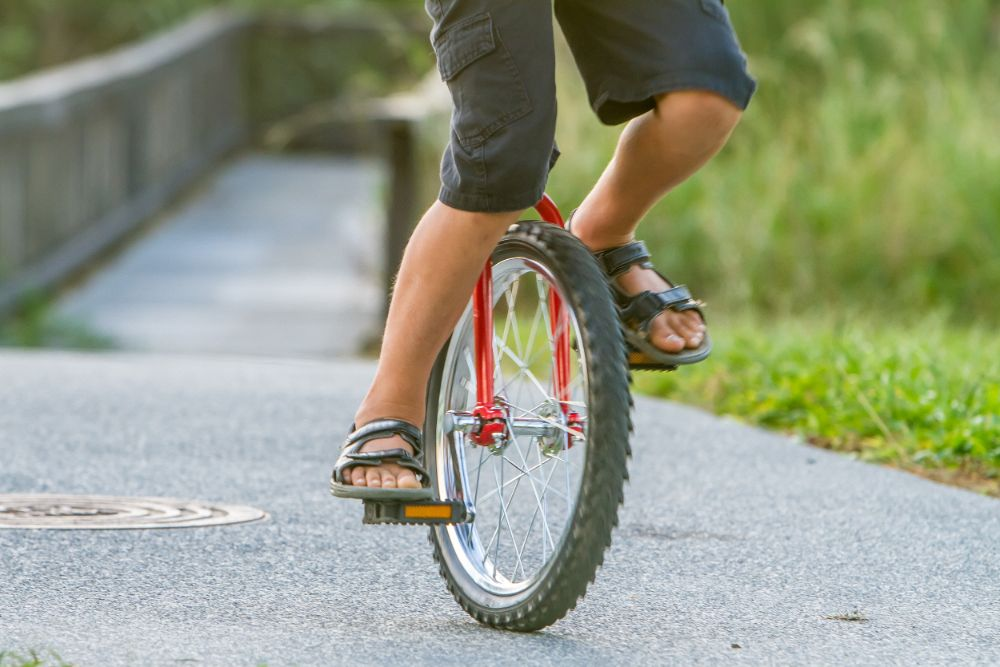 Unicycle for Beginners