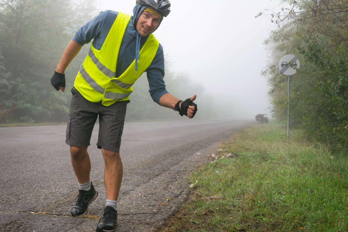 Safety Reflective Vest For Bike Riders