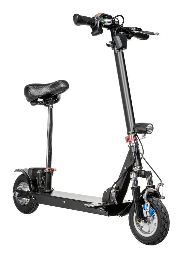Foldable Electric Scooter with a Seat