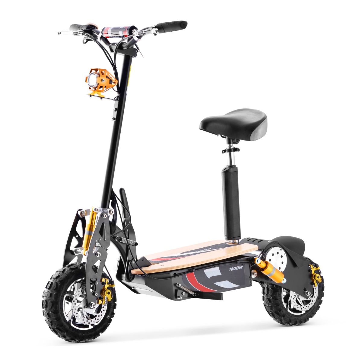 Super Lithium 1500 Brushless Electric Scooter Review