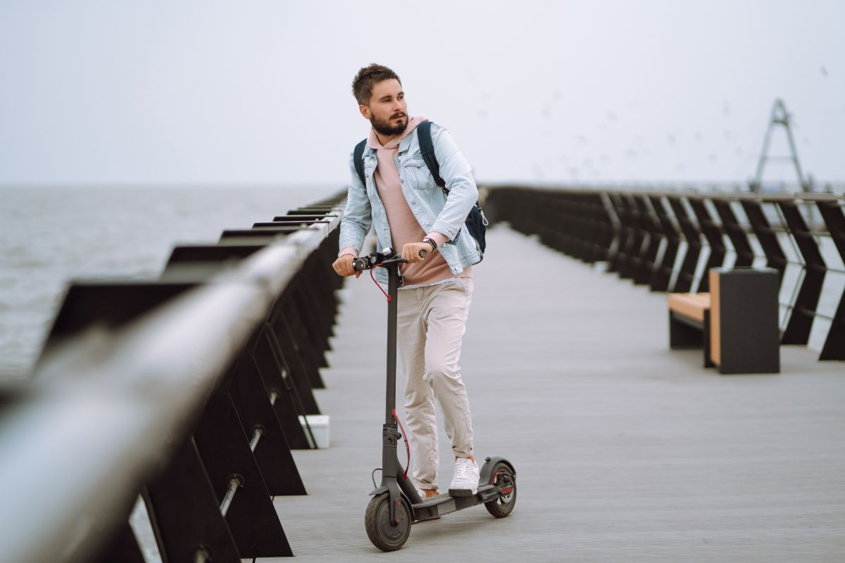 6 Electric Scooter for Road Use