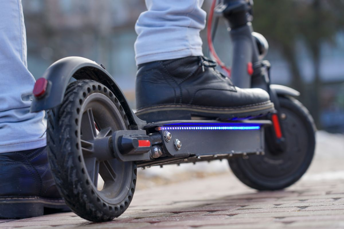 Brake in Electric Scooters